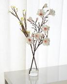 Japanese Magnolia Glass Cylinder