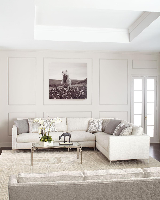 Eden 4Piece Sectional Sofa
