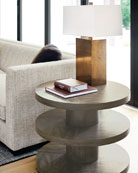 Profile 3-Tier Side Table