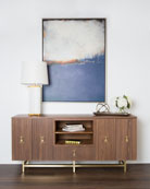Caleb Four-Door Media Console