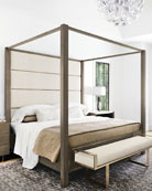 Profile Canopy King Bed