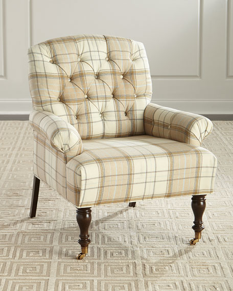 Massoud Traynor Tufted Chair