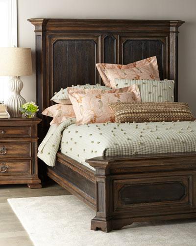 Casella King Mansion Bed