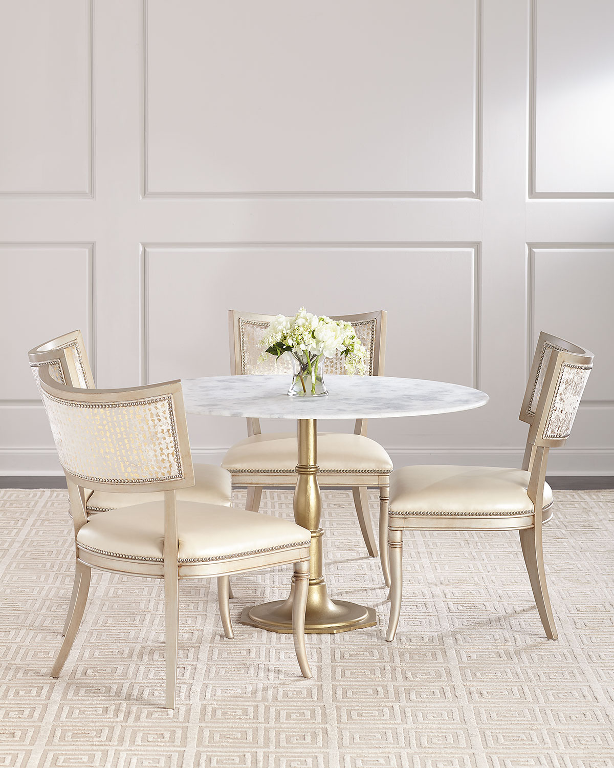 Chesney MarbleTop Bistro Table