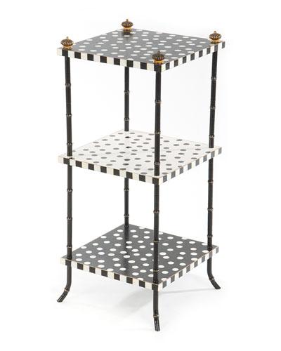 Dot Three-Tier Table