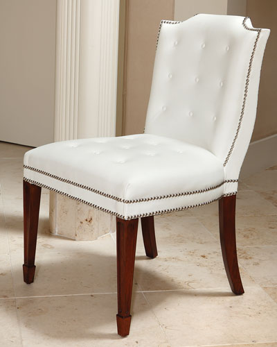 Mary Kate Leather Dining Chair