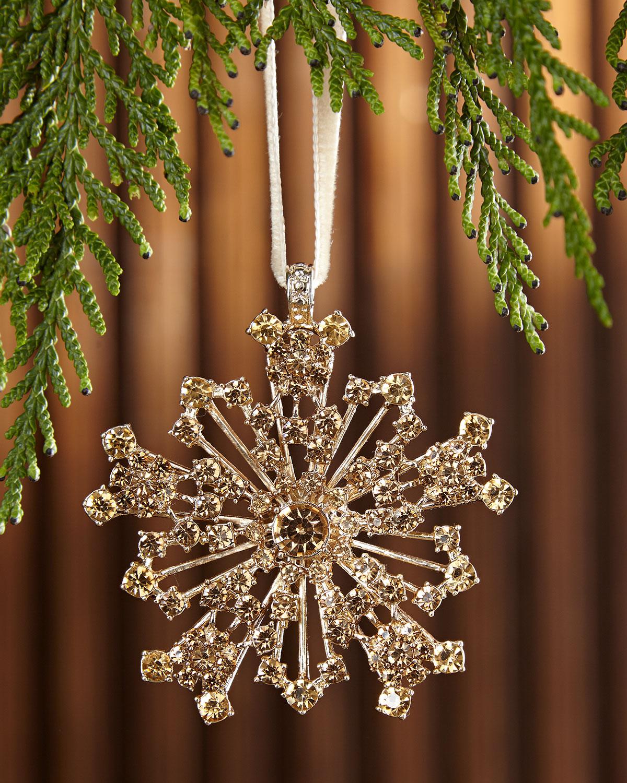 Snowflake Hanging Christmas Ornament