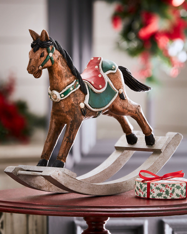 Carousel Rocking Horse Figure