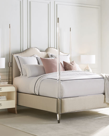 caracole The Post Is Clear California King Bed