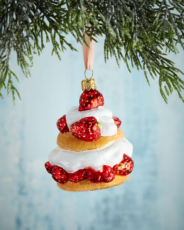 Strawberry Shortcake Christmas Ornament