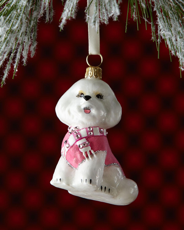 Bichon Frise Dog Christmas Ornament