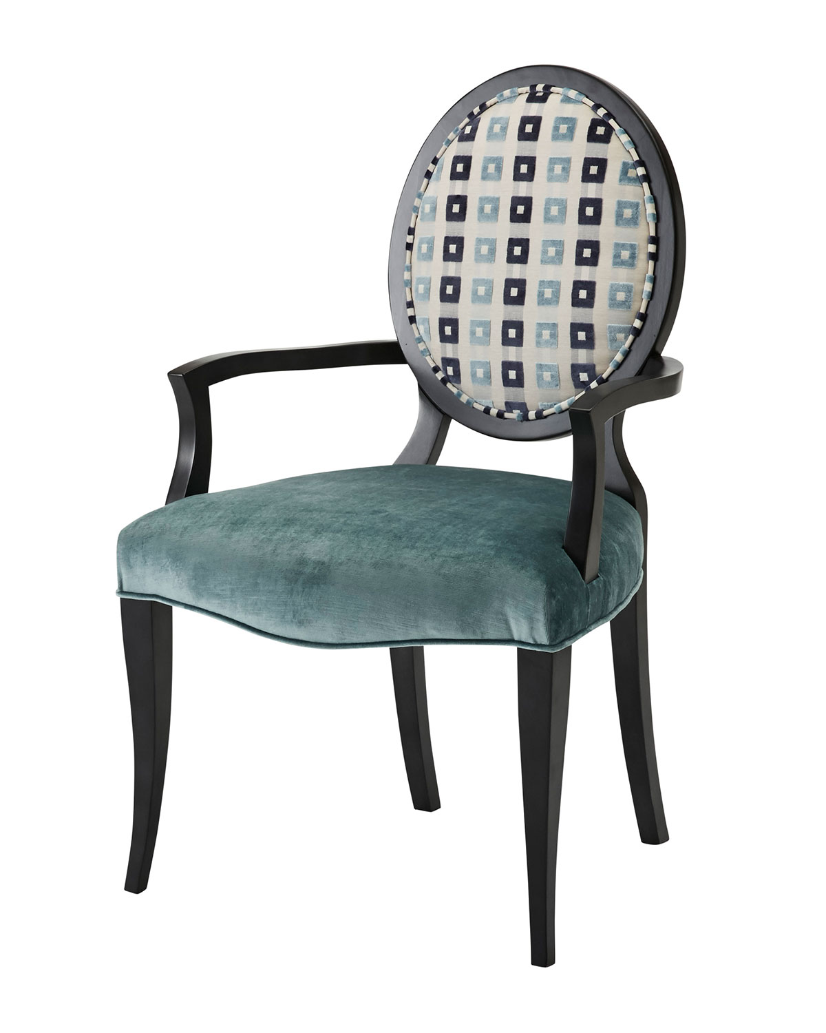 OneofaKind Oval Back Chair