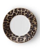 Hutchinson Leopard Salad Plate