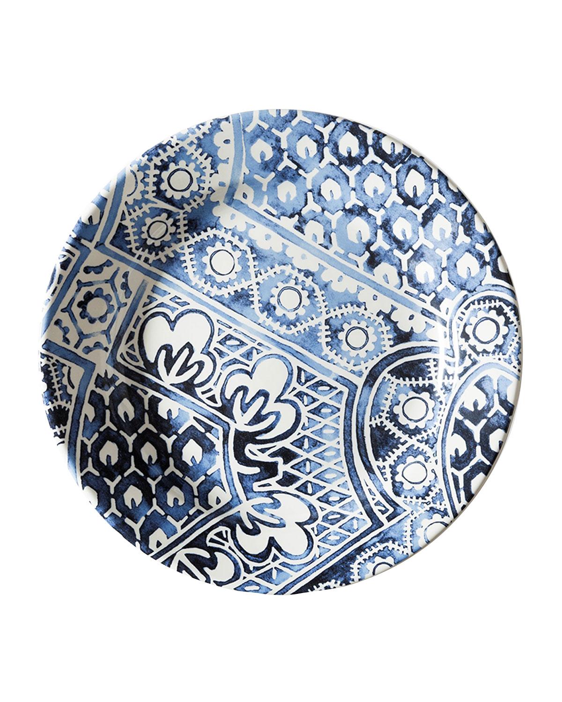 Cote D'Azur Batik Salad Plate