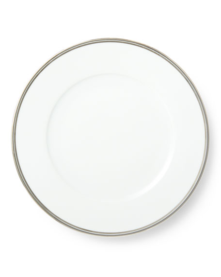 Ralph Lauren Home Wilshire Dinner Plate, Platinum