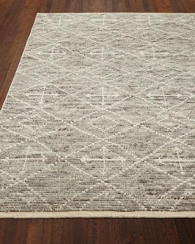 Oscar Hand-Knotted Rug, 5' x 7.6'