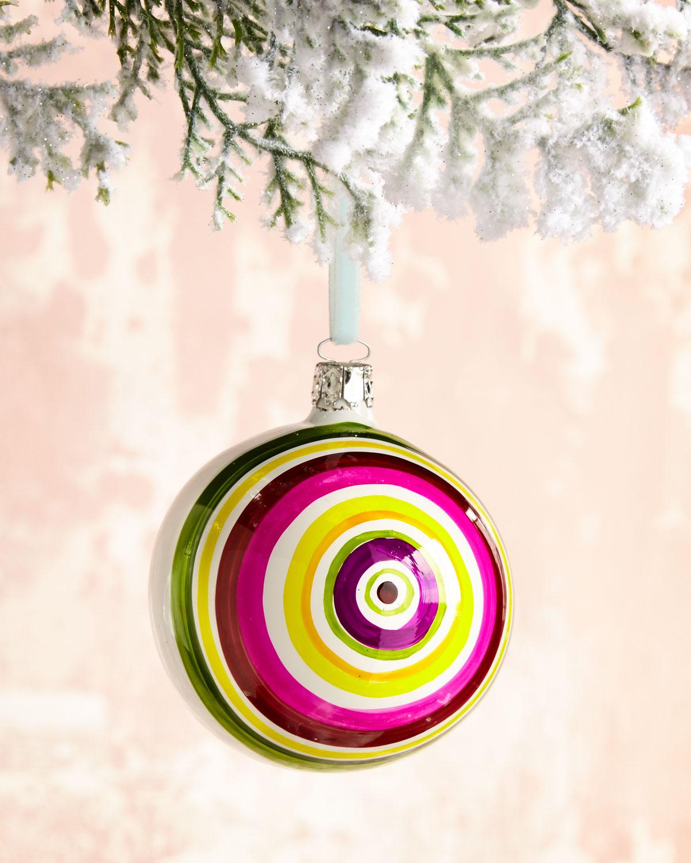 Multi-Circle Ball Christmas Ornament, 3.15