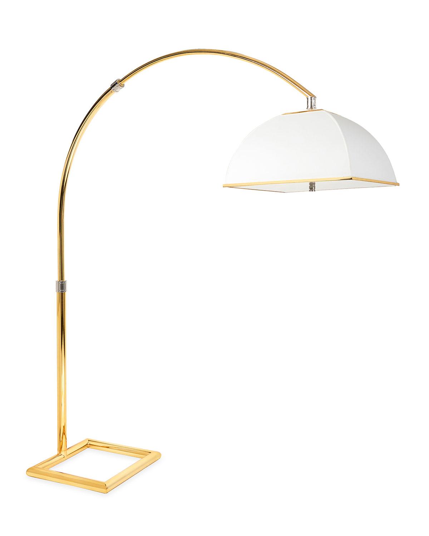 Electrum Arc Floor Lamp