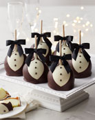 Mrs Prindable's Black Tie Petite Caramel Apple 12-Count