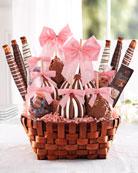 Premium Spring Caramel Apple Gift Basket