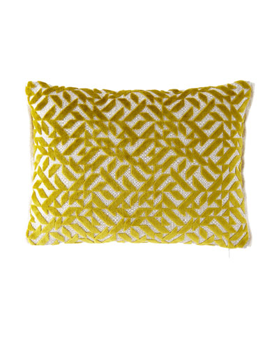 Dufrene Moss Pillow