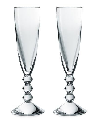 Vega Champagne Flutes, Set of 2