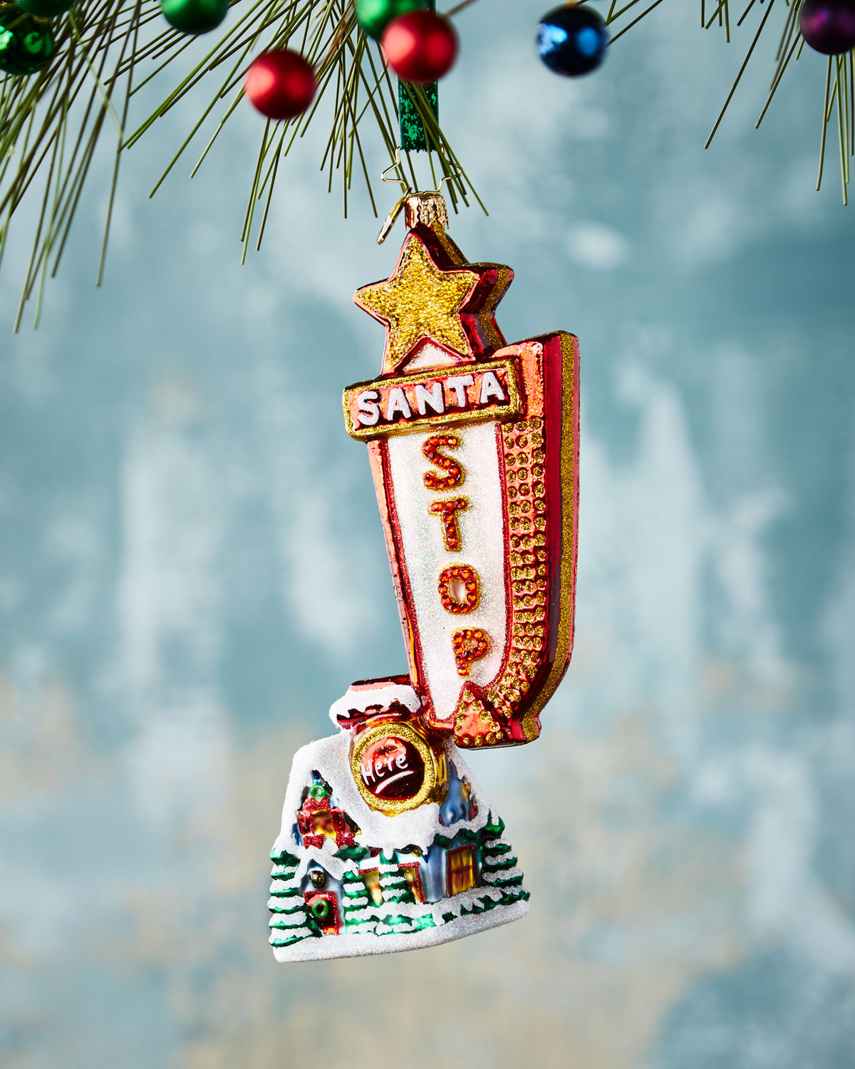 Will He See Us Christmas Ornament