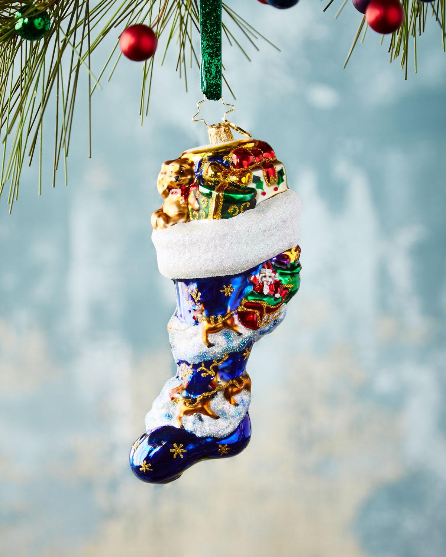 Socked In Christmas Ornament