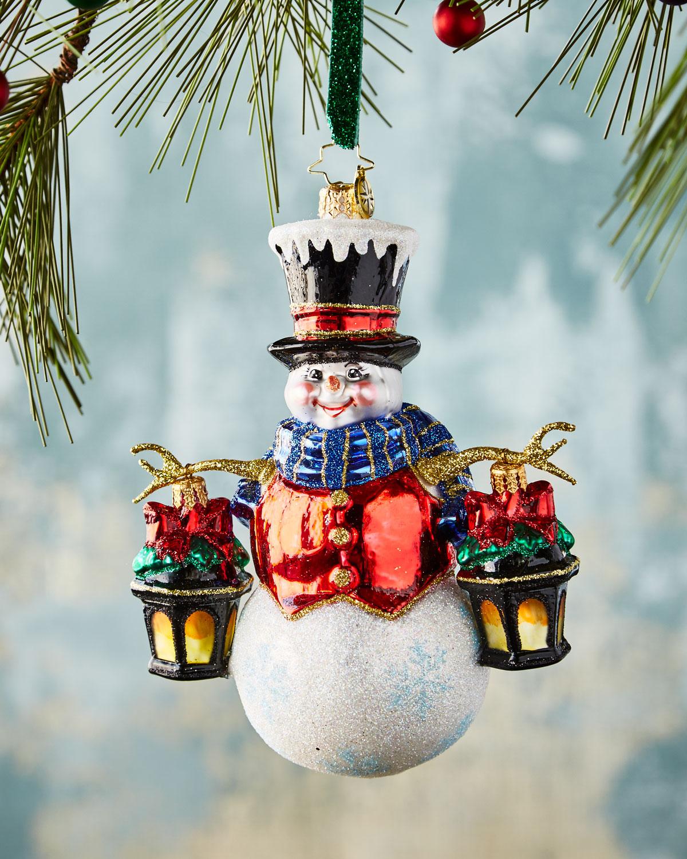 Winter Watchman Christmas Ornament
