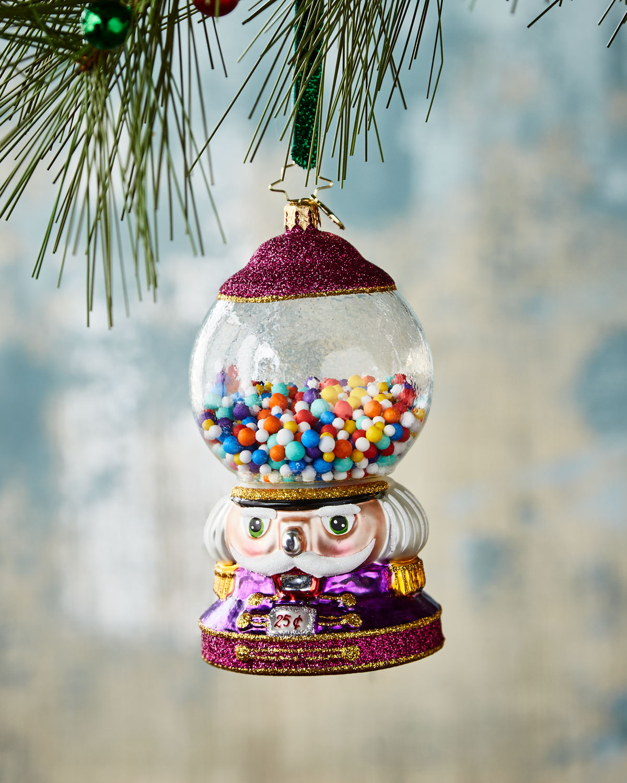Bubble Gum Chum Christmas Ornament