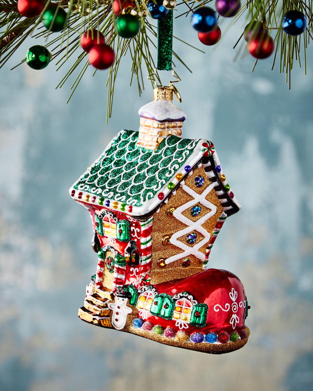 A Really Big Shoooeeee Christmas Ornament