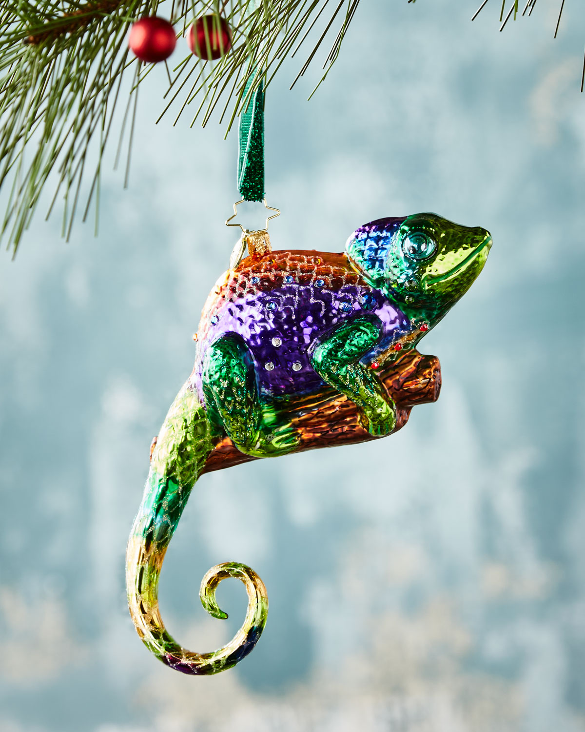 A Colorful Personality Christmas Ornament