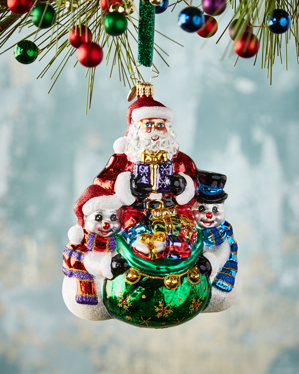 Cool Christmas Couriers Christmas Ornament