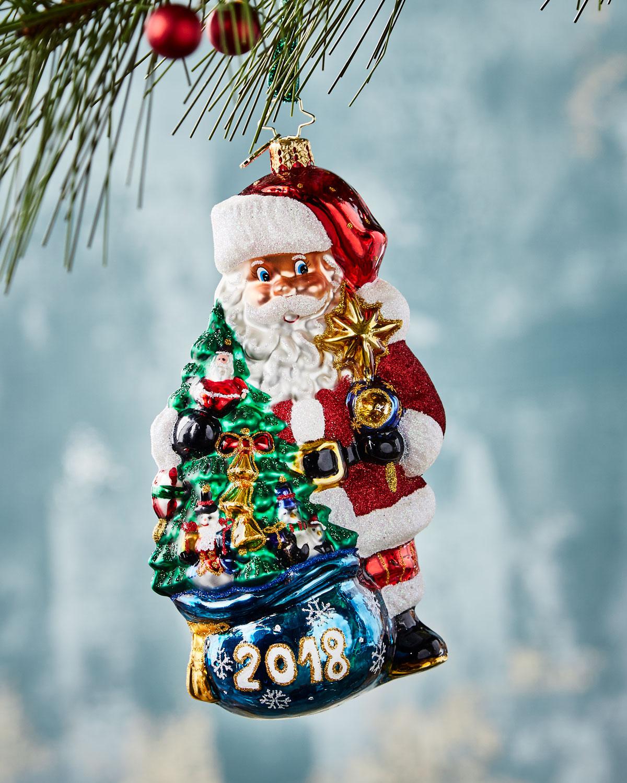 2018 In the Bag Santa Ornament