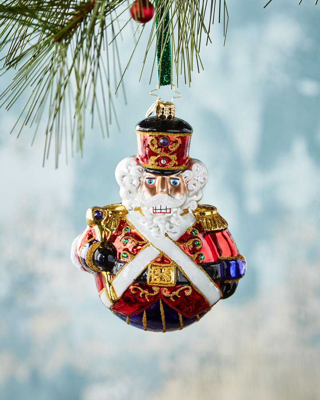 Man or Mouse Nutcracker Christmas Ornament