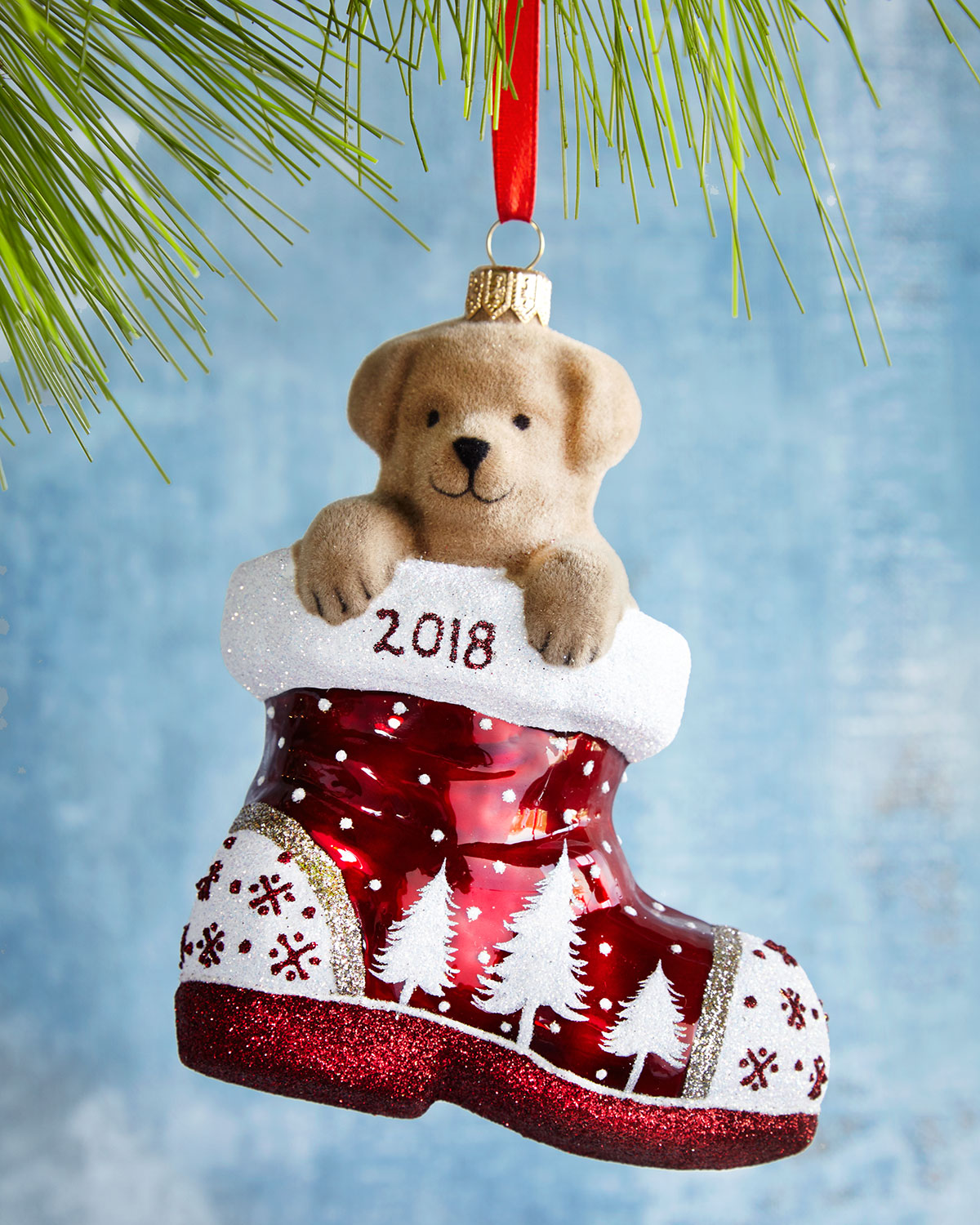 Charlie in the Boot Annual Ornament