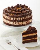 Annie Pie's Bakery Peanut Butter Explosion Cake, 10