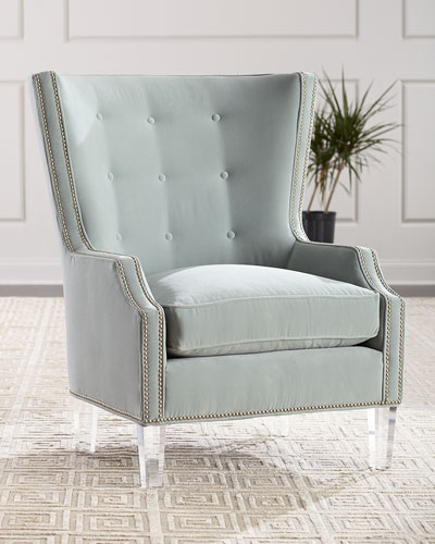 wing chair neiman marcus