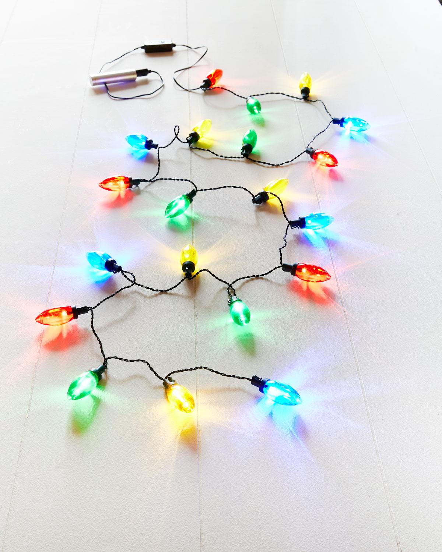 20 Multicolored LED Lights