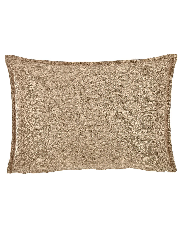 Gecko Decorative Oblong Pillow