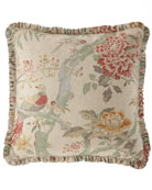 French Laundry Home Alyssa Pillow with Ruffle Flange