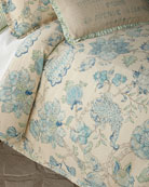 French Laundry Home Camile Queen Duvet and Matching