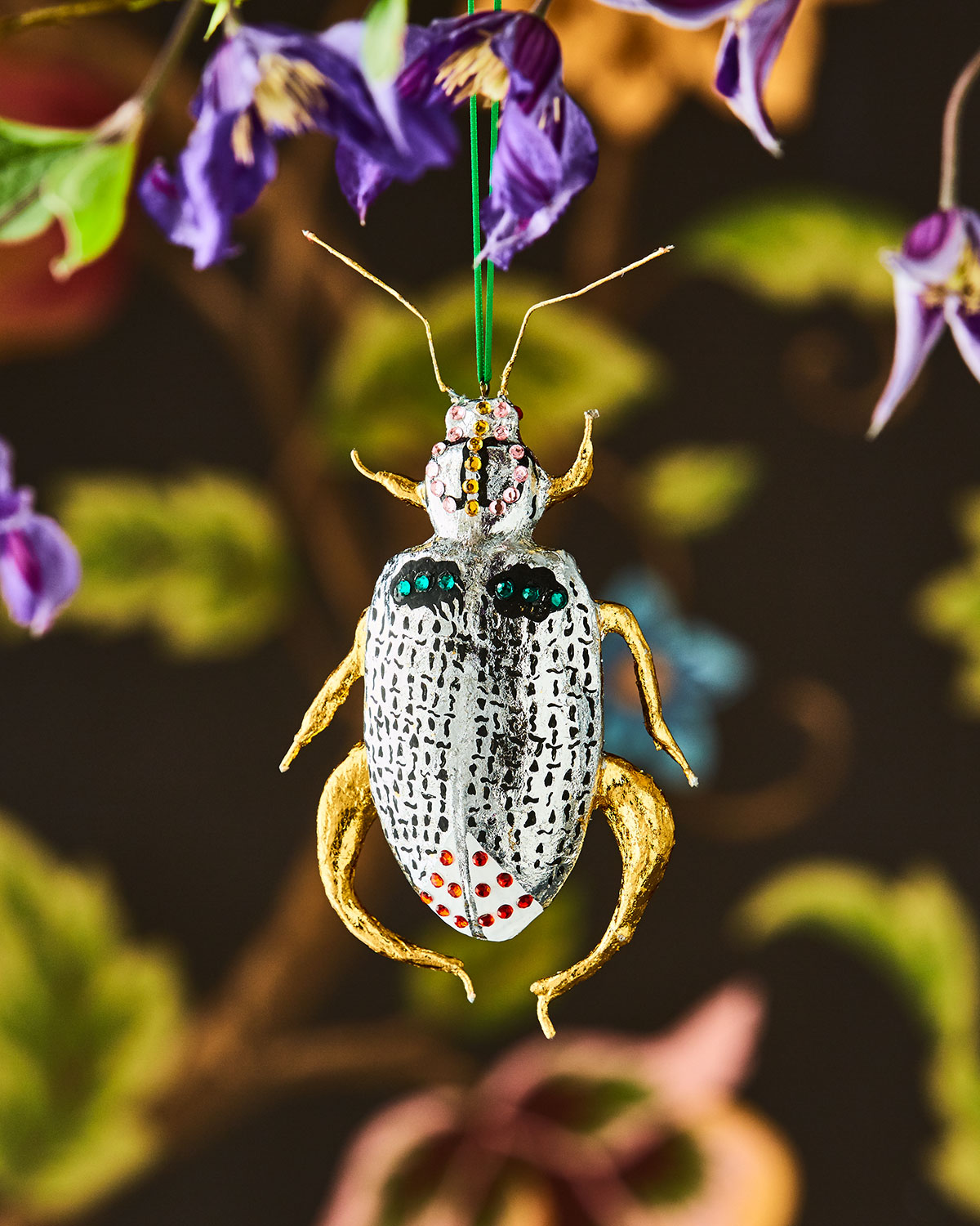 Bejeweled Beetle Ornament