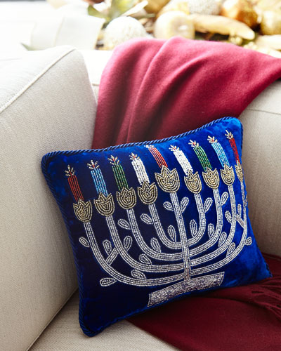 Menorah Pillow