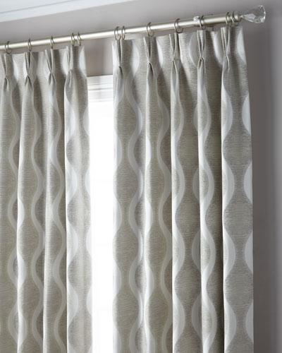 3-Fold Pinch Pleat Wave Curtain, 108