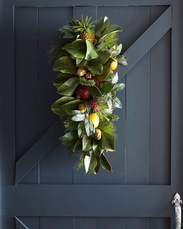 Teardrop Holiday Fruit Decor