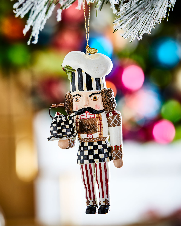 Baker Nutcracker Christmas Ornament