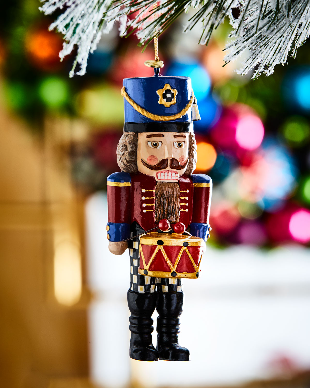 Nutcracker Drummer Christmas Ornament