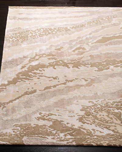 Galexia Hand-Knotted Rug, 6' x 9'