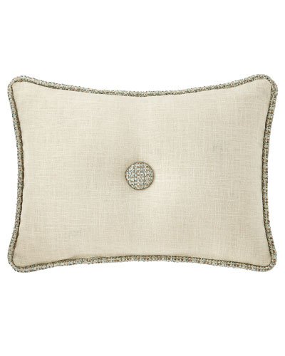 Tinsley Linen Boudoir Pillow